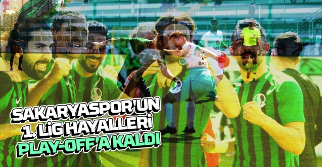 Hayaller Play-Off'a kaldı